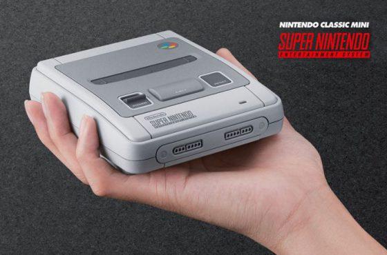 Nintendo vuelve a ponernos los dientes largos con la Super Nintendo Classic Mini