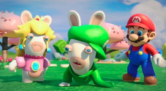 Mario + Rabbids Kingdom Battle presenta a Rabbid Luigi en un tráiler