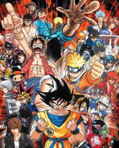 Personajes series shonen más conocidas