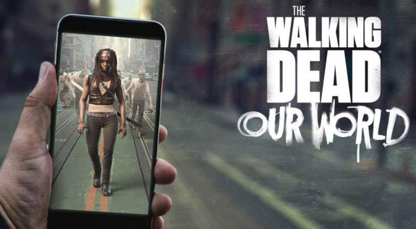The Walking Dead: Our World, es una especie de Pokémon Go con zombis