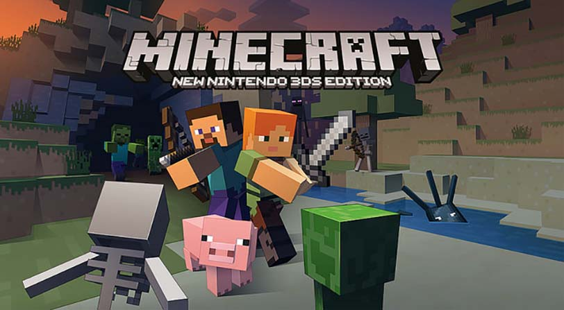 Minecraft llegará a la New 3DS de Nintendo
