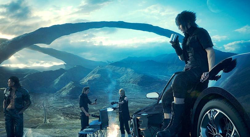 Final Fantasy XV llega en 4K reescalados para Xbox One