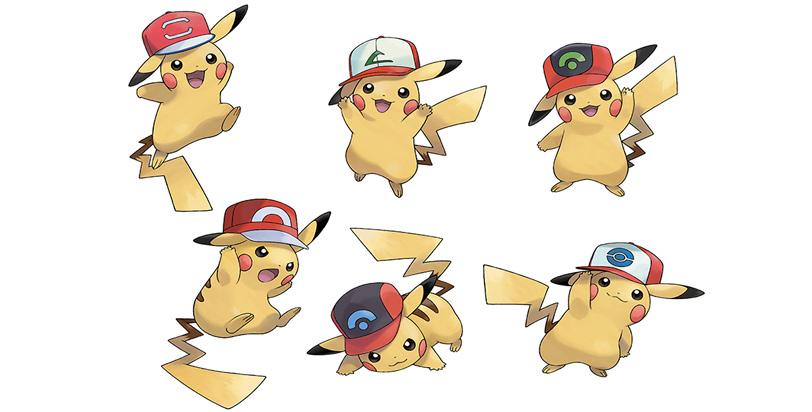Consigue un Pikachu con gorra gratis para Pokémon Sun y Moon