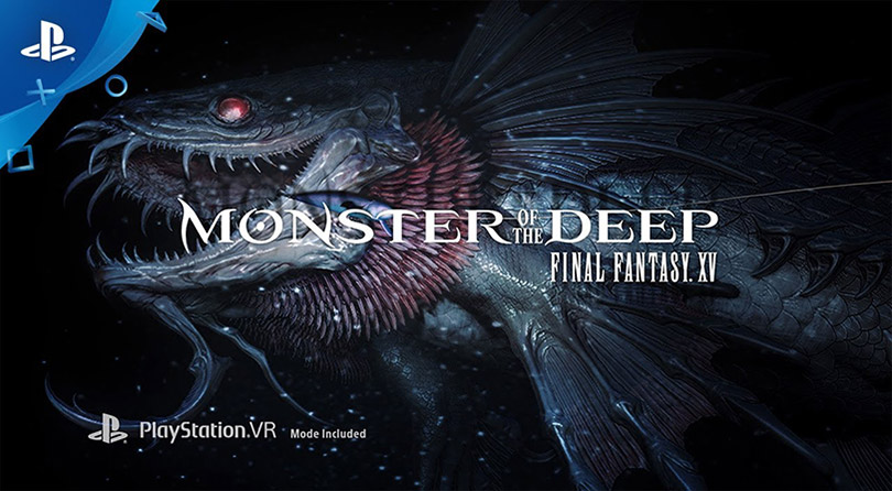 Monster of the Deep: Final Fantasy XV, un juego para PSVR para pescar aterradoras criaturas