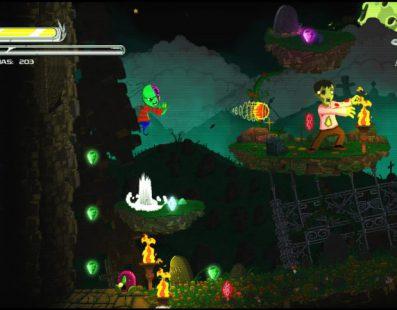 Nightmare Boy: el juego de acción y plataformas basado en las pesadillas del protagonista