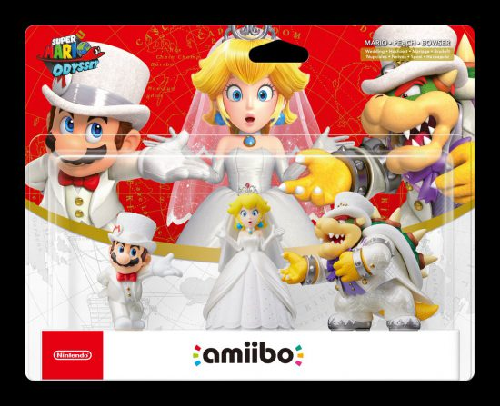 Amiibos de Super Mario Odyssey