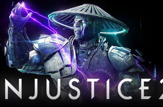 Raiden, el Dios del Trueno de Mortal Kombat, llegará a Injustice 2