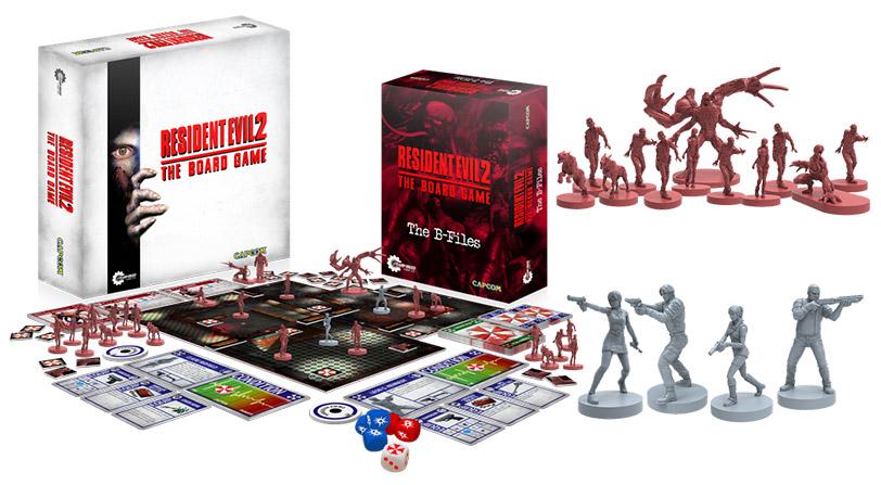 El juego de mesa de Resident Evil 2 consigue su financiación en una hora
