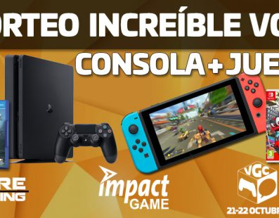 SORTEO VIDEO GAME COMIC consola PS4 / Nintendo Switch + Juego