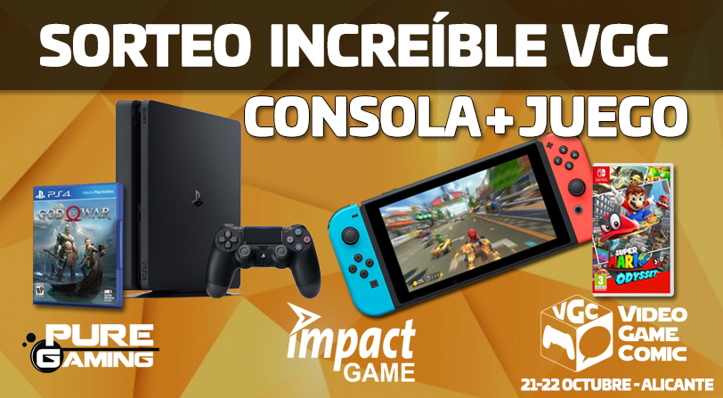 Sorteo Nintendo Switch Playstation 4 + juego