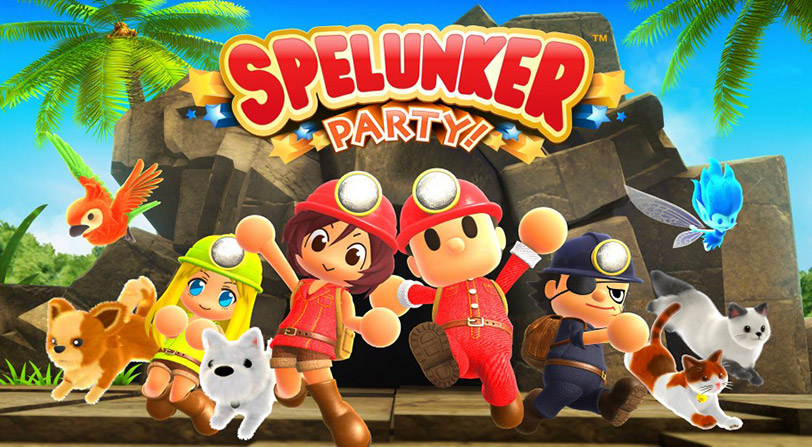 Anunciado Spellunker Party, lo nuevo de Square Enix para PC y Switch