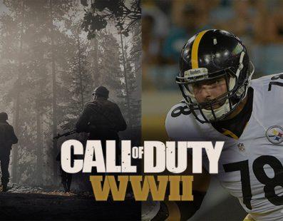 Call of Duty WWII contará con Alejandro Villanueva, un jugador de fútbol americano español