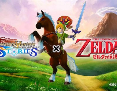 The Legend of Zelda llegará a Monster Hunter Stories en forma de DLC