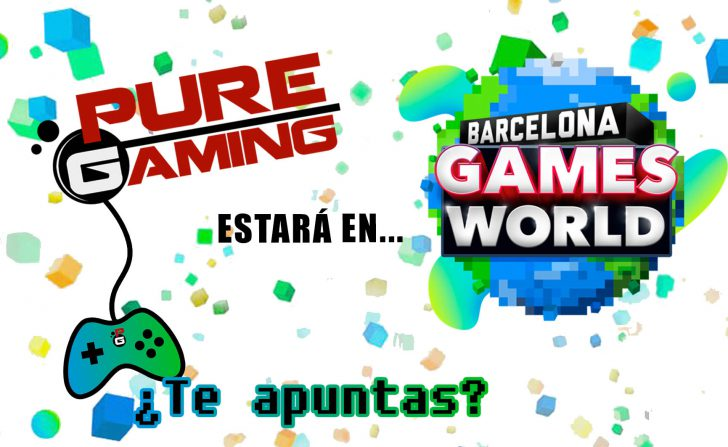 Puregaming estará en Barcelona Games World