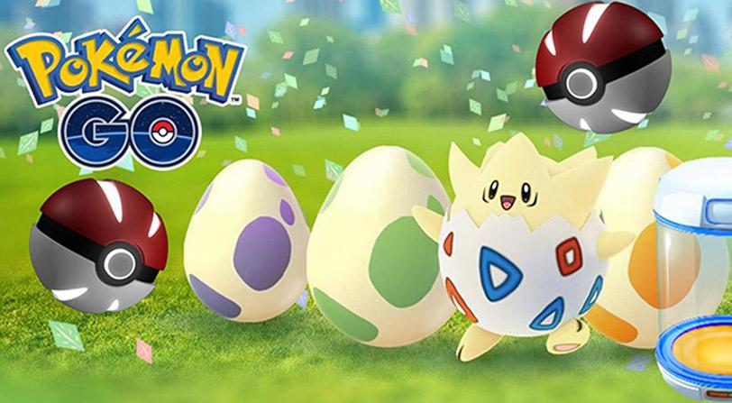 Cambios en las eclosiones de huevos de Pokémon Go