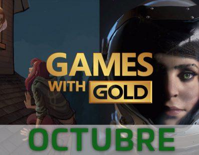 Estos son los juegos gratuitos con Xbox Games with Gold de octubre