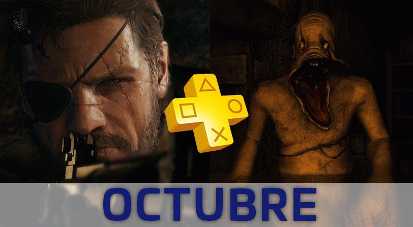 PlayStation Plus desvela los Juegos Gratuitos del mes de Octubre