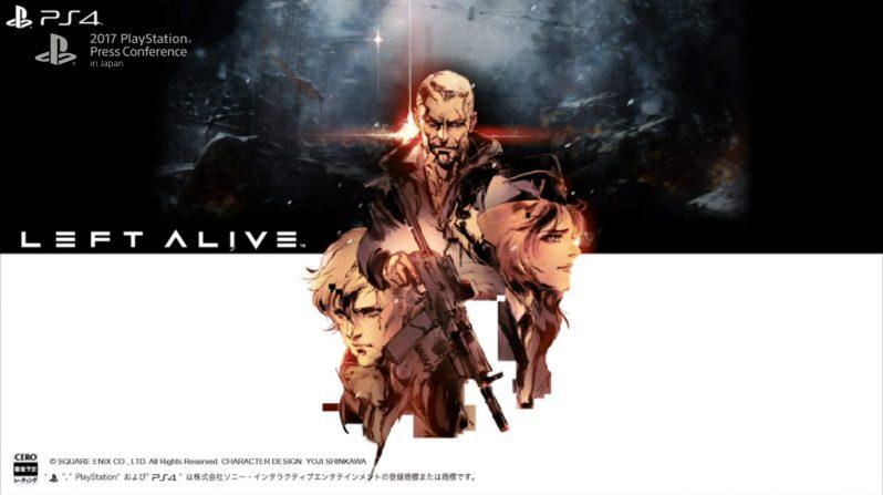 Square Enix anuncia Left Alive, su nuevo juego, y promete bastante