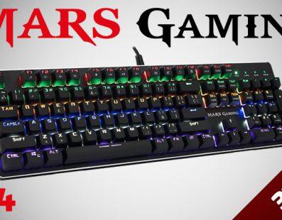 Mars Gaming presenta el nuevo MK4, un teclado mecánico al alcance de todos