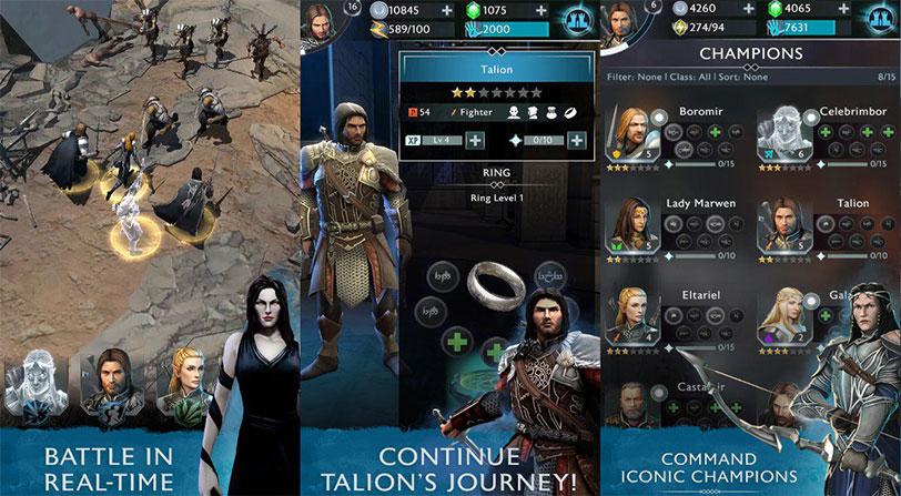 Tierra Media: Sombras de Guerra ya está disponible para móviles