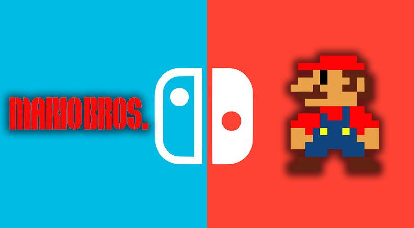 Nintendo Switch añade el primer juego clásico de Nintendo