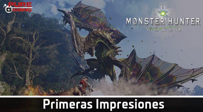 Primeras Impresiones – Monster Hunter World