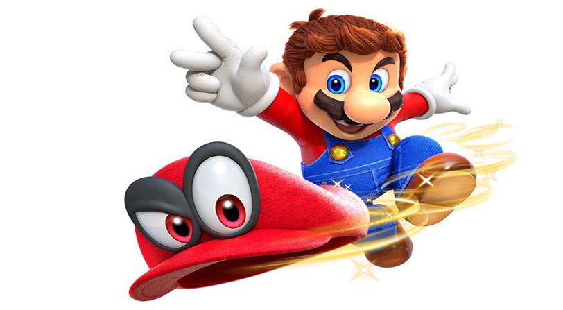 Super Mario Odyssey estrena nuevo Gameplay lanzando su sombrero a todo lo que se mueve