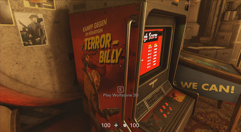 Este es el curioso Easter Egg de Wolfenstein II: The New Colossus