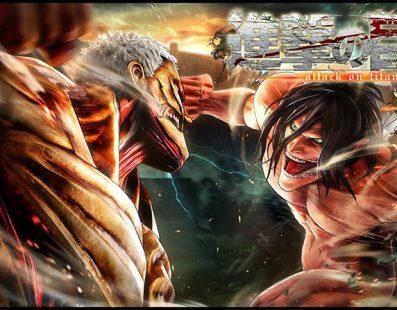 Más de 30 personajes jugables en Attack on Titan 2