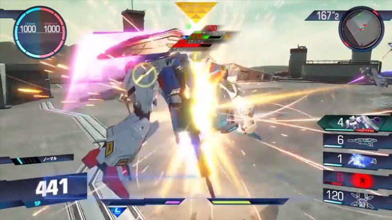Gundam Versus Batalla