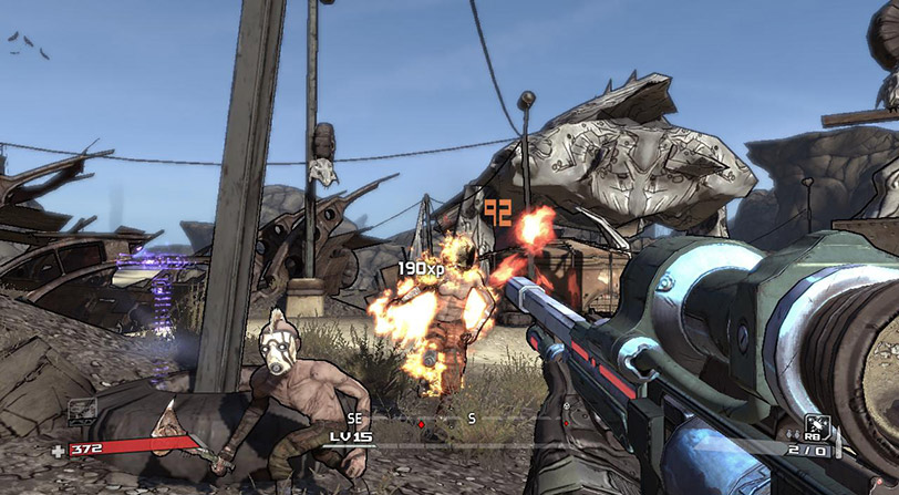 La saga de Borderlands completa en Humble Bundle