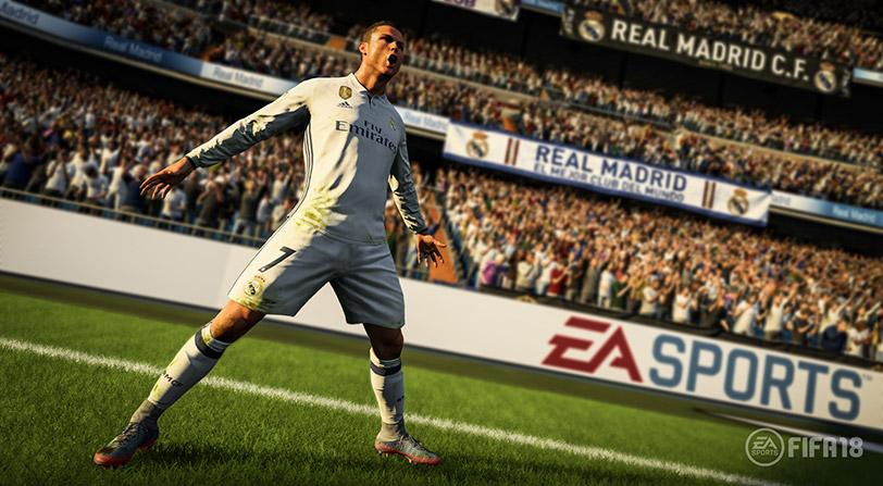 El juego de FIFA 18 tiene menos funciones en Nintendo Switch