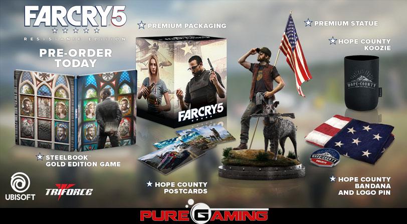 Edición Resistance Far Cry 5 Coleccionista Limitada
