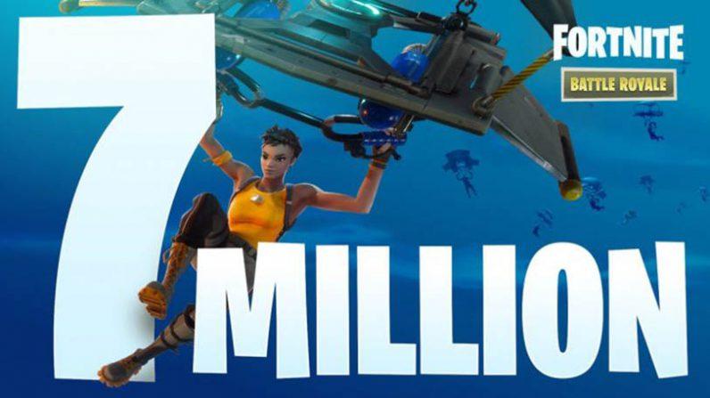 Nuevo contenido en Fortnite para celebrar los 7 millones de jugadores