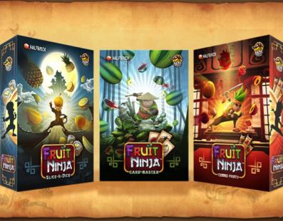 ¿Un juego de mesa de Fruit Ninja? Todo es posible