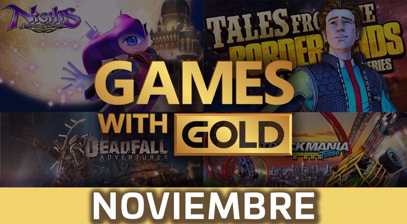 Xbox Live Gold: Estos son los juegos del mes de noviembre