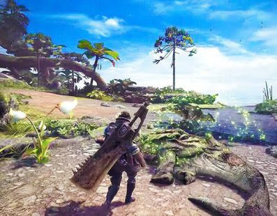 El tráiler de Monster Hunter World se estrena en Paris Games Week