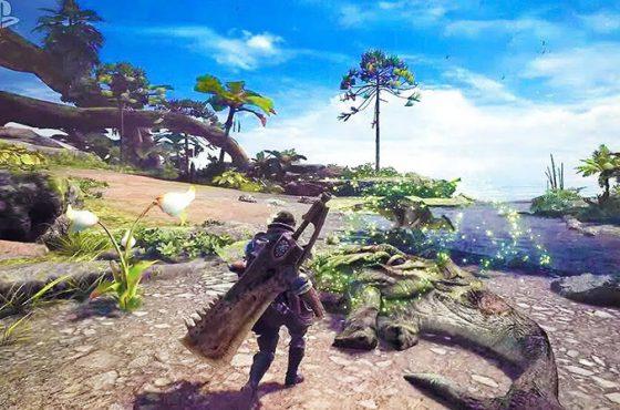 El tráiler de Monster Hunter World se estrena en Paris Games Week