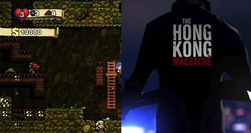 El prometedor The Hong Kong Massacre y Spelunky 2 de Mossmouth presentados