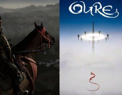 Oure se estrena por sorpresa en PS4 y el tráiler de Ghost of Tsushima