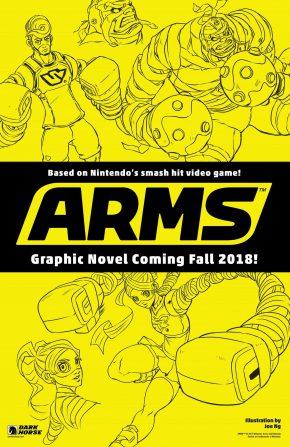 arms comic