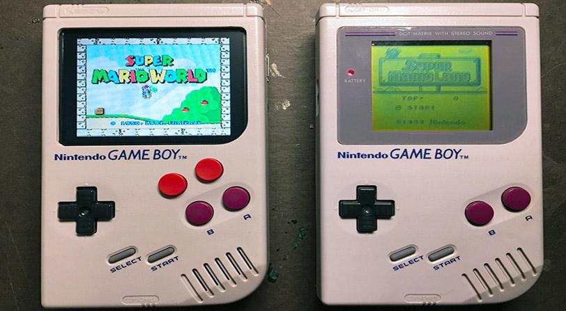 Nintendo exhibe una Game Boy que sobrevivió a una guerra