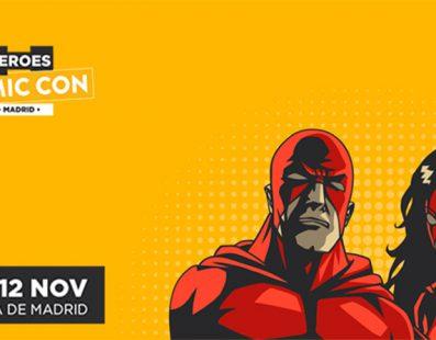 Todos los horarios de firmas para Heroes Comic Con en Madrid