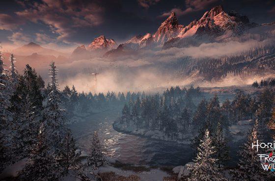 El nuevo tráiler de Horizon Zero Dawn: The Frozen Wilds muestra una maravilla invernal