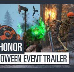 For Honor se une a la celebración de Halloween con un evento temático