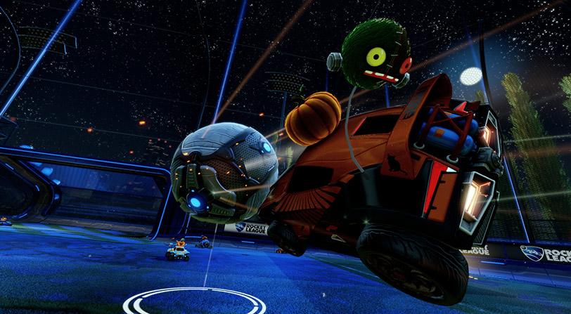 El evento de Rocket League en Halloween te permitirá abrir cajas de botín de forma gratuita
