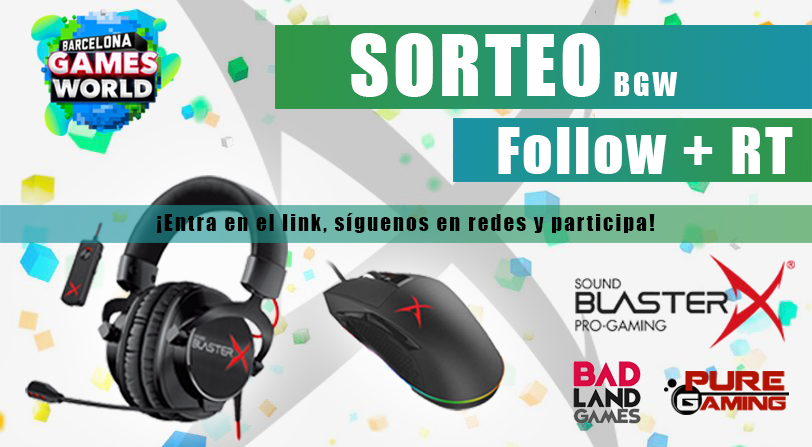 SORTEO SOUNDBLASTER X – Headset Gaming H7 Tournament Edition + Ratón Siege MO4