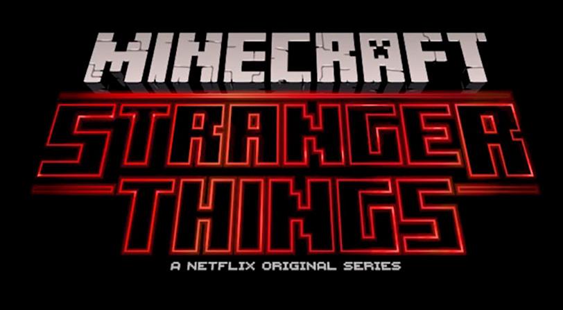 ¿Qué pasa cuando juntamos Minecraft y Stranger Things?