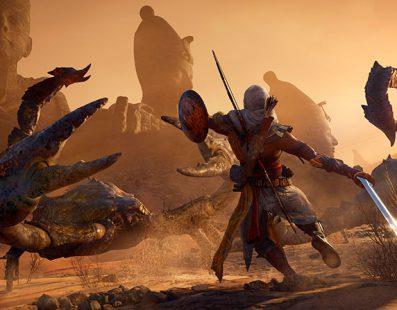 Assasins's Creed Origins: más dificultad con la última actualización