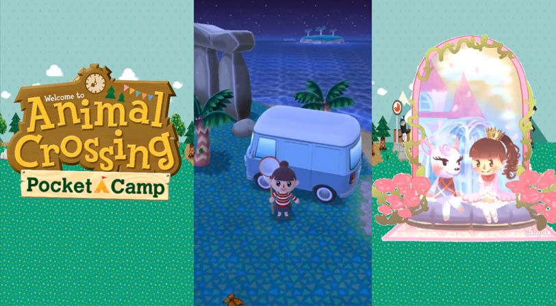 Mapas de animal crossing pocket camp